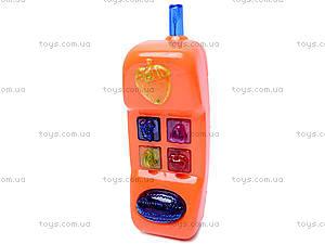 Игрушечный телефон, со звуковыми эффектами, 5210A