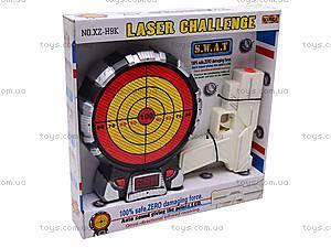 Игрушечный тир с лазерным прицелом, XZ-H9K, детские игрушки