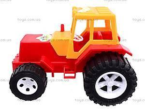 Игрушечный трактор, 007, toys.com.ua