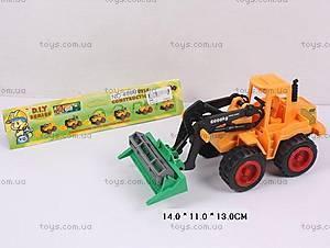 Игрушечный трактор для детей, 489B