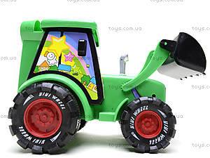 Игрушечный трактор с инерцией, 3020, фото