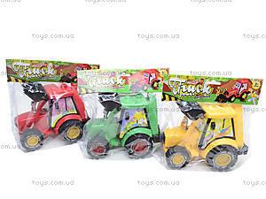 Игрушечный трактор с инерцией, 3020