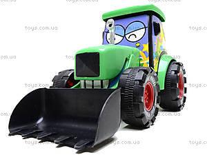 Игрушечный трактор с инерцией, 3020, цена