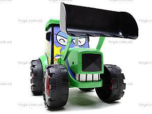 Игрушечный трактор с инерцией, 3020, игрушки