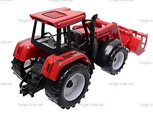 Игрушечный трактор с ковшом, 9998-6/7, фото