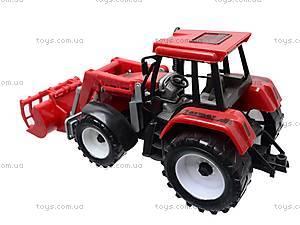Игрушечный трактор с ковшом, 9998-6/7, игрушки