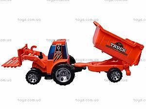 Игрушечный трактор с прицепом, FD603A, купить