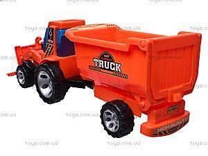 Игрушечный трактор с прицепом, FD603A, цена