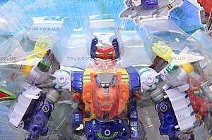 Игрушечный трансформер «Герой», 7759A-F, купить