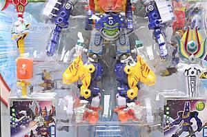 Игрушечный трансформер «Герой», 7759A-F, фото