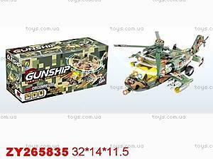 Игрушечный вертолет с подсветкой, 23015-2