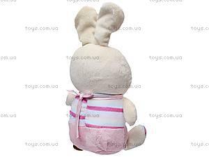 Игрушечный заяц-младенец, К336Т, фото