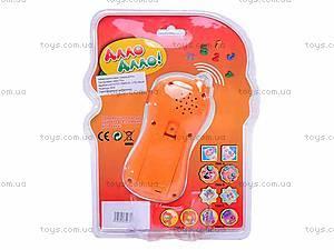 Игрушка «Детский телефон», 7098A, купить