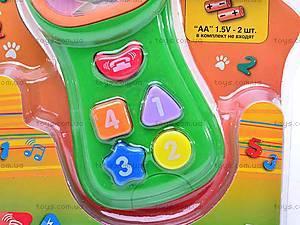 Игрушка «Детский телефон», 7098A, отзывы