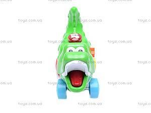 Игрушка - каталка «Крокодил», 3008A, купить
