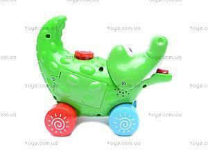 Игрушка - каталка «Крокодил», 3008A