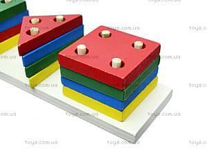 Игрушка-логика «Геометрия», 2307-8, отзывы