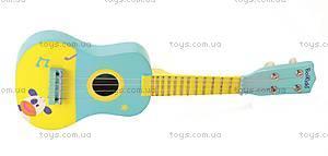 Игрушка «Моя первая гитара», 5011, фото