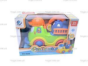 Игрушка музыкальная «Машинка», 0648, игрушки