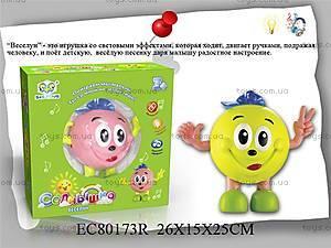 Игрушка музыкальная «Веселун», EC80173R