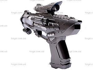 Игрушка «Музыкальный пистолет», 0033A, фото
