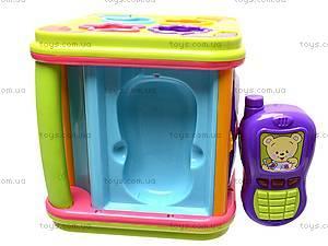 Игрушка «Музыкальный сортер», 25100, детские игрушки