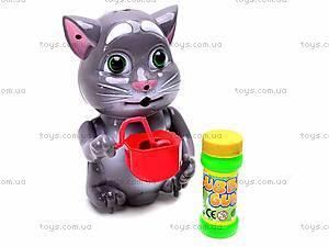 Игрушка-мыльные пузыри «Кот Том», 0362