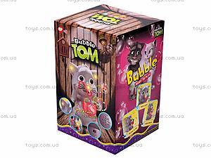 Игрушка-мыльные пузыри «Кот Том», 0362, игрушки