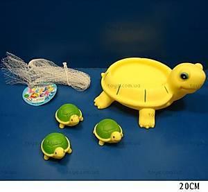 Игрушка-пищалка «Черепашка с черепашатами», JM99-076