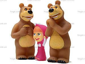 Игрушка - пищалка «Маша и Медведь», 8899-1, игрушки