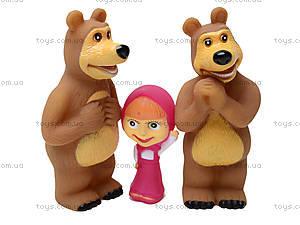 Игрушка - пищалка «Маша и Медведь», 8899-1, детские игрушки