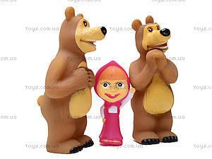 Игрушка - пищалка «Маша и Медведь», 8899-1, магазин игрушек