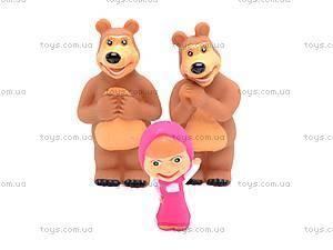 Игрушка - пищалка «Маша и Медведь», 8899-1, фото