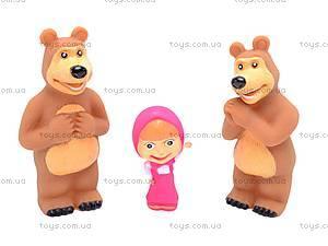 Игрушка - пищалка «Маша и Медведь», 8899-1, цена
