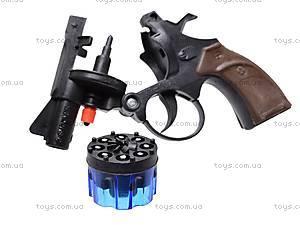Игрушка «Пистолет», для пуль-пистонов, TKP-007B8-2, магазин игрушек