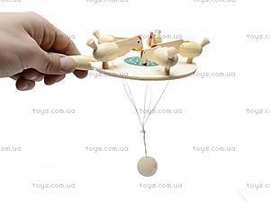 Игрушка под роспись «Курочки зернышки клюют», BT-WT-0005