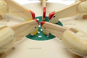 Игрушка под роспись «Курочки зернышки клюют», BT-WT-0005, фото
