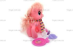 Игрушка «Пони», с шарфом, 63107A-63107B, фото