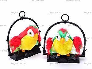 Игрушка повторюшка «Попугайчик», FOD2028, фото