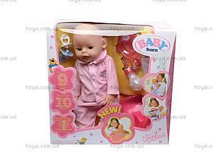Игрушка пупс Baby Doll, 863578-17, игрушки