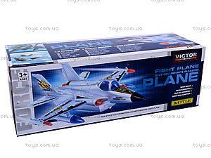 Игрушка «Самолет», на батарейках, 712, фото