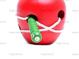 Игрушка-шнуровка «Яблоко», MD0488, купить