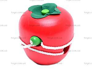Игрушка-шнуровка «Яблоко», MD0488, отзывы