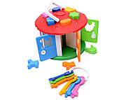 Игрушка-сортер «Домик», 2438, toys