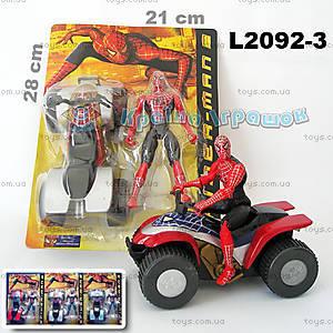 Игрушка «Спайдермен на квадроцикле», L2092-3