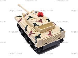 Игрушка «Танк» для танковых боев на радиоуправлении, 2102B, фото