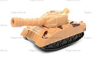 Игрушка «Танк», с заводным механизмом, 6365, купить