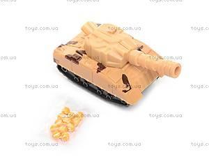 Игрушка «Танк», с заводным механизмом, 6365, фото