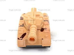 Игрушка «Танк», с заводным механизмом, 6365, отзывы