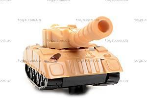 Игрушка «Танк», с заводным механизмом, 6365, цена